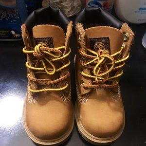 timberland boots size (babies)